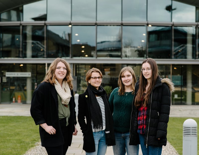 Undergraduate mathematics students - photography by Owen Richards