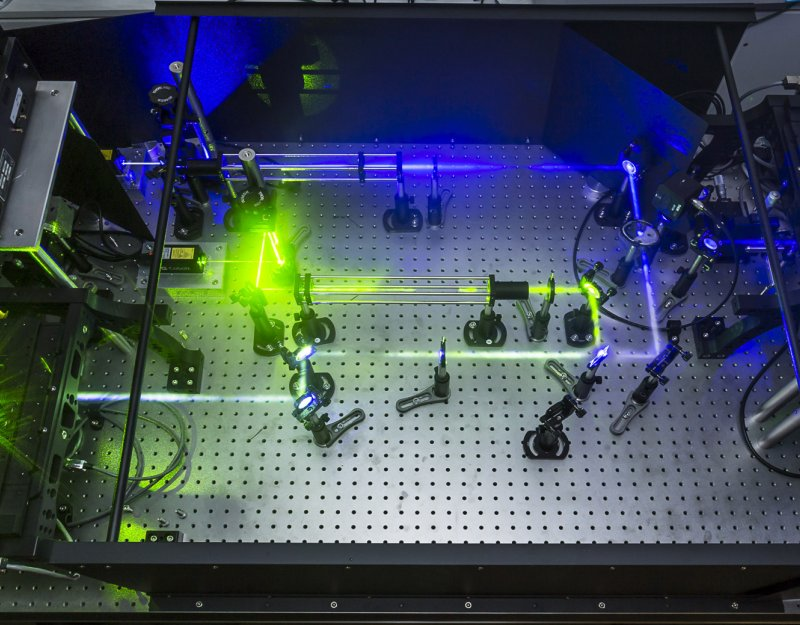 Laser laboratory in the Department of Chemistry
