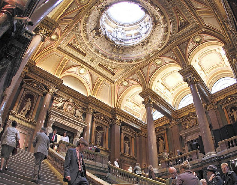 Fitzwilliam Museum Founders' building interior