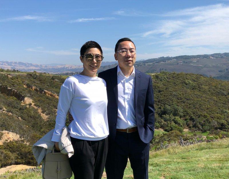 Carol Chen and Harry Tsao