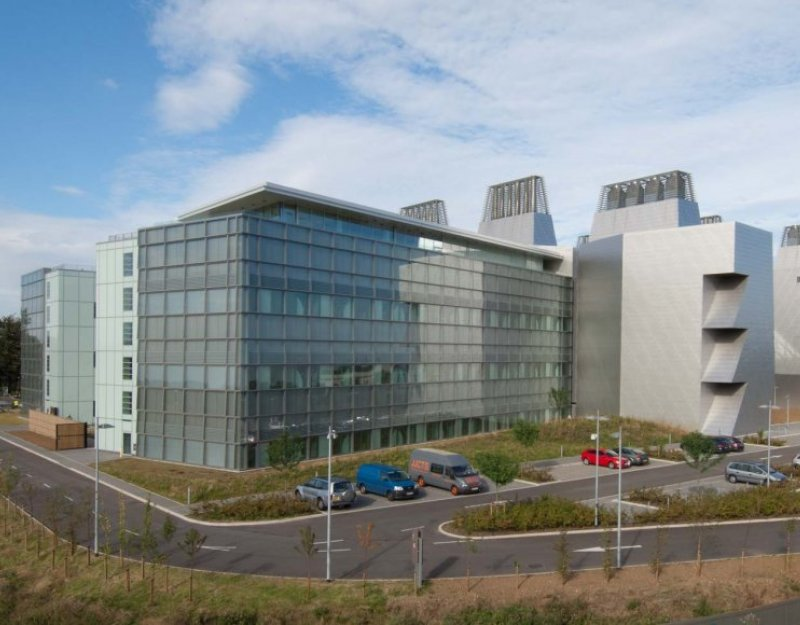 The new Laboratory of Molecular Biology at Addenbrooke's hospital