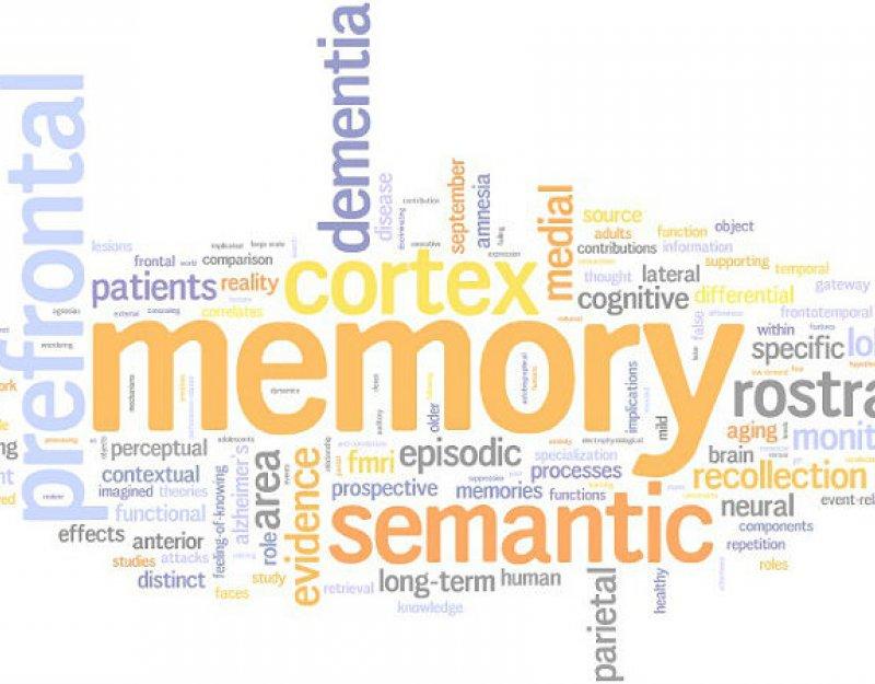 Memory wordcloud