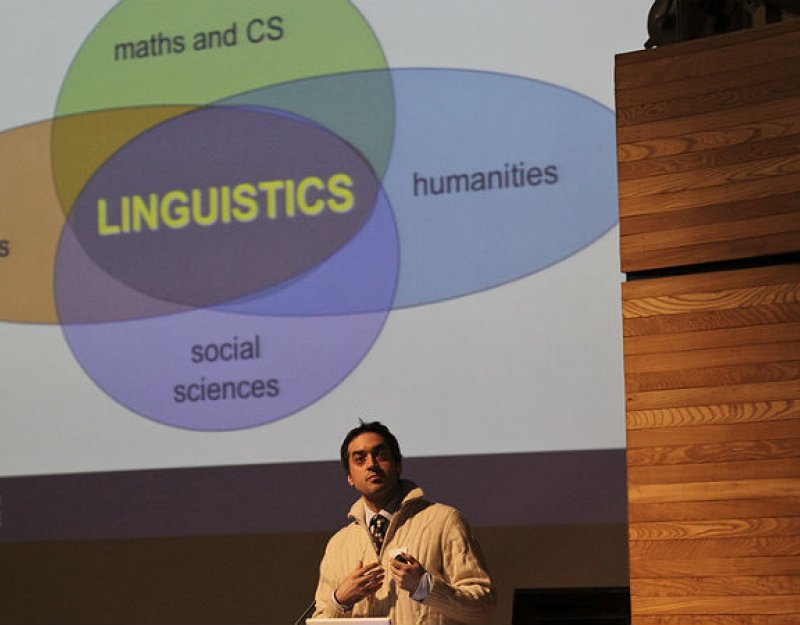 Linguistics is a central part of the study of many language disciplines
