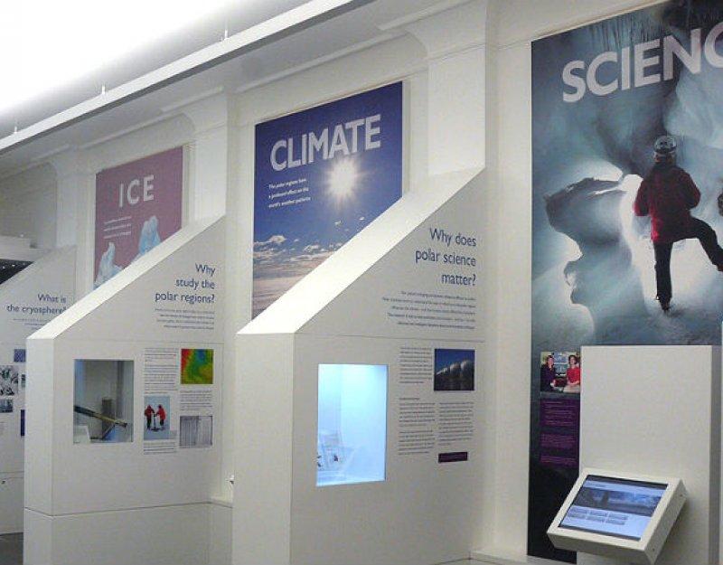 Polar Museum interior