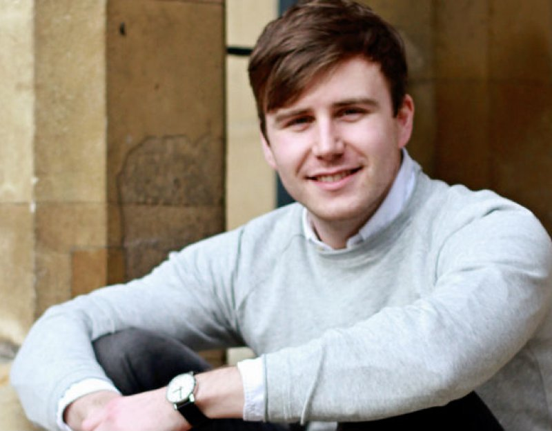 Rhys Jones, Wolfson Scholar and PhD in History student