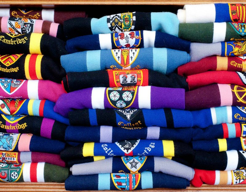 College scarves