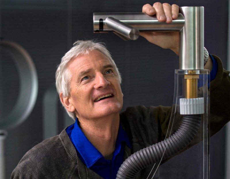 Sir James Dyson. Image courtesy of the James Dyson Foundation