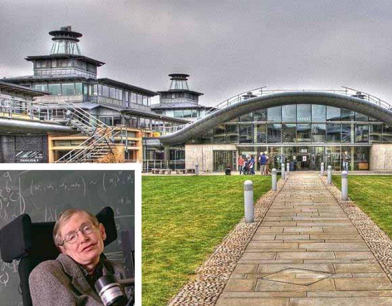 Professor Stephen Hawking and DAMTP