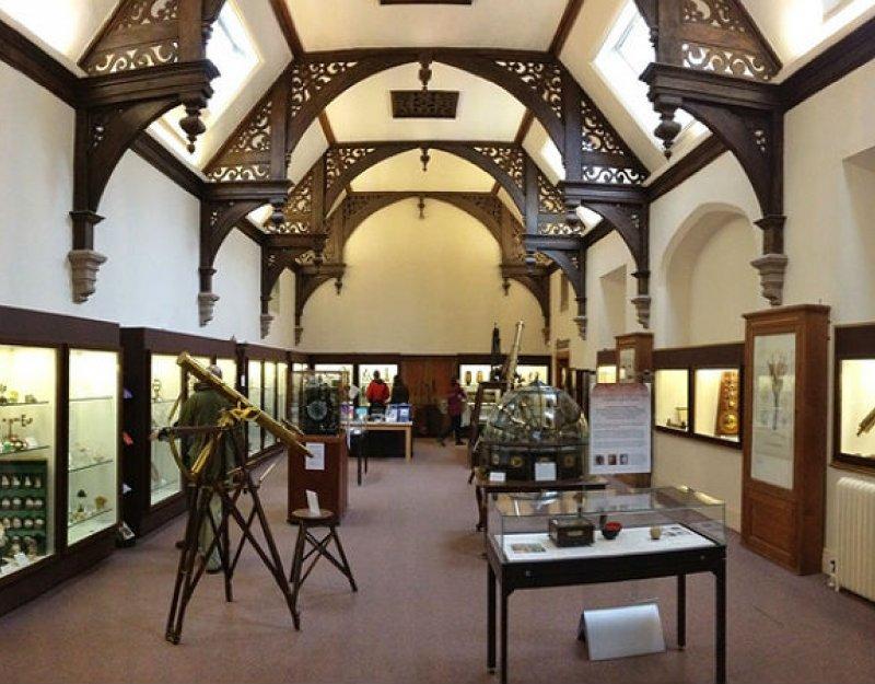Whipple museum interior