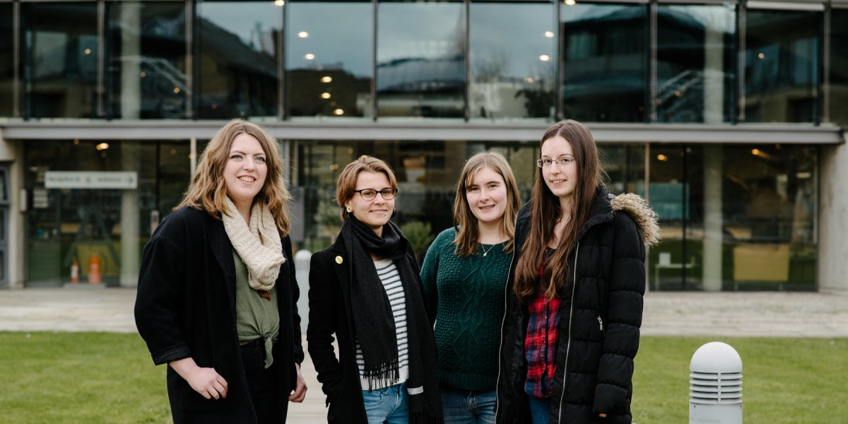 Undergraduate mathematics students - photography by Owen Richards