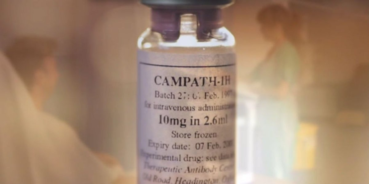 Alemtuzumab (trade name Campath-1H), licensed in 2013 for the treatment of multiple sclerosis