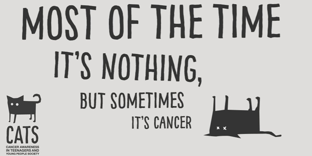 Most of the time it's nothing, but sometimes it's cancer