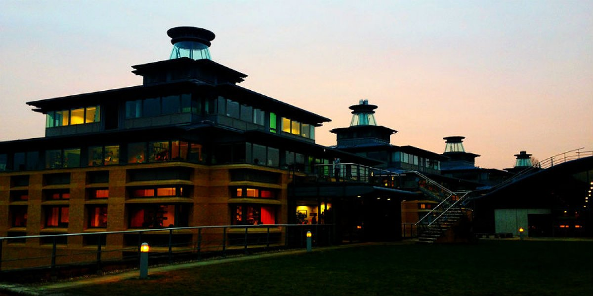 Centre for Mathematical Sciences by twilight