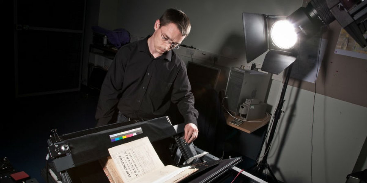 Digitising the Newton Papers, Cambridge University Library
