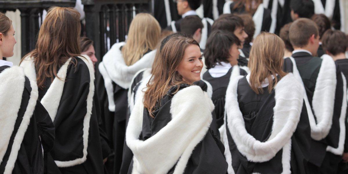 Graduating students at General Admission, 2012