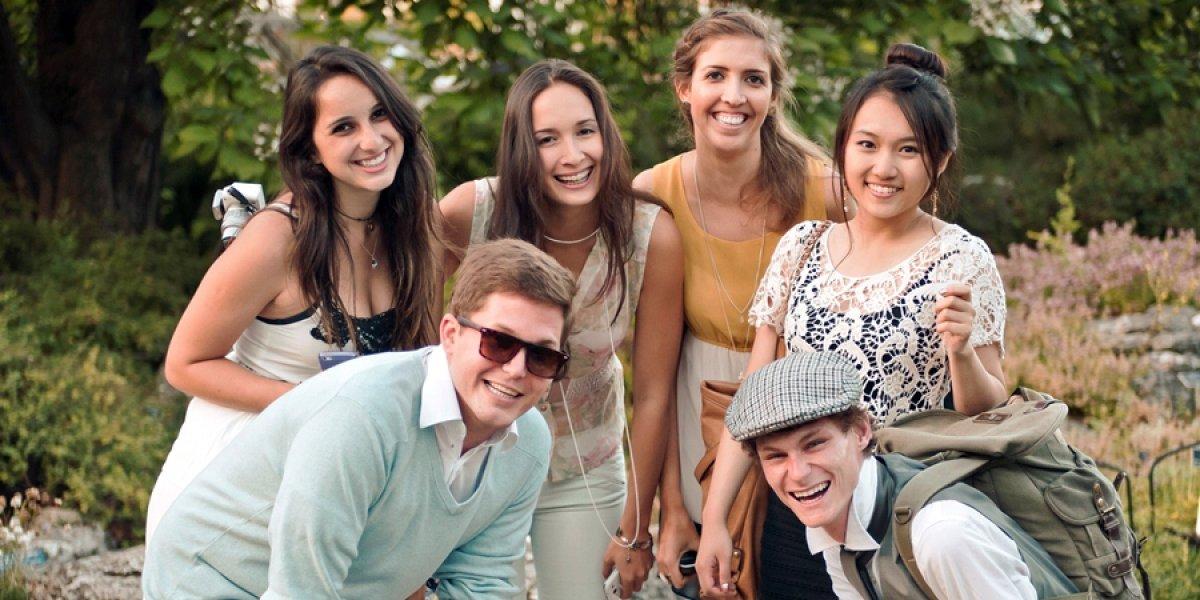 Students on a University of Cambridge International Summer Programme