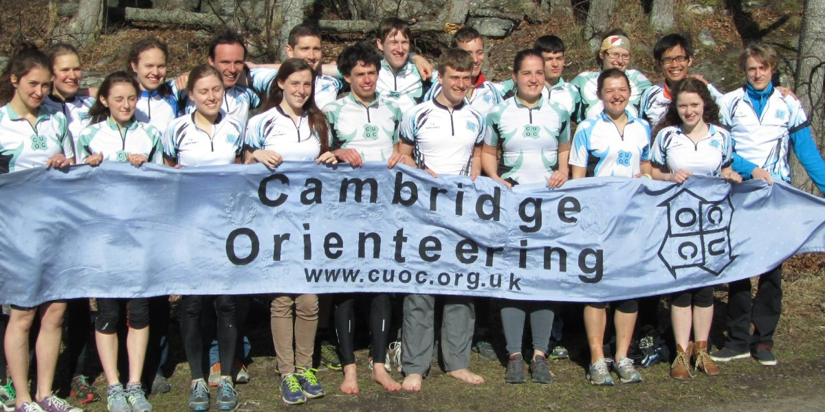 Members of the Orienteering Club (CUOC) range from complete beginners to British champions.