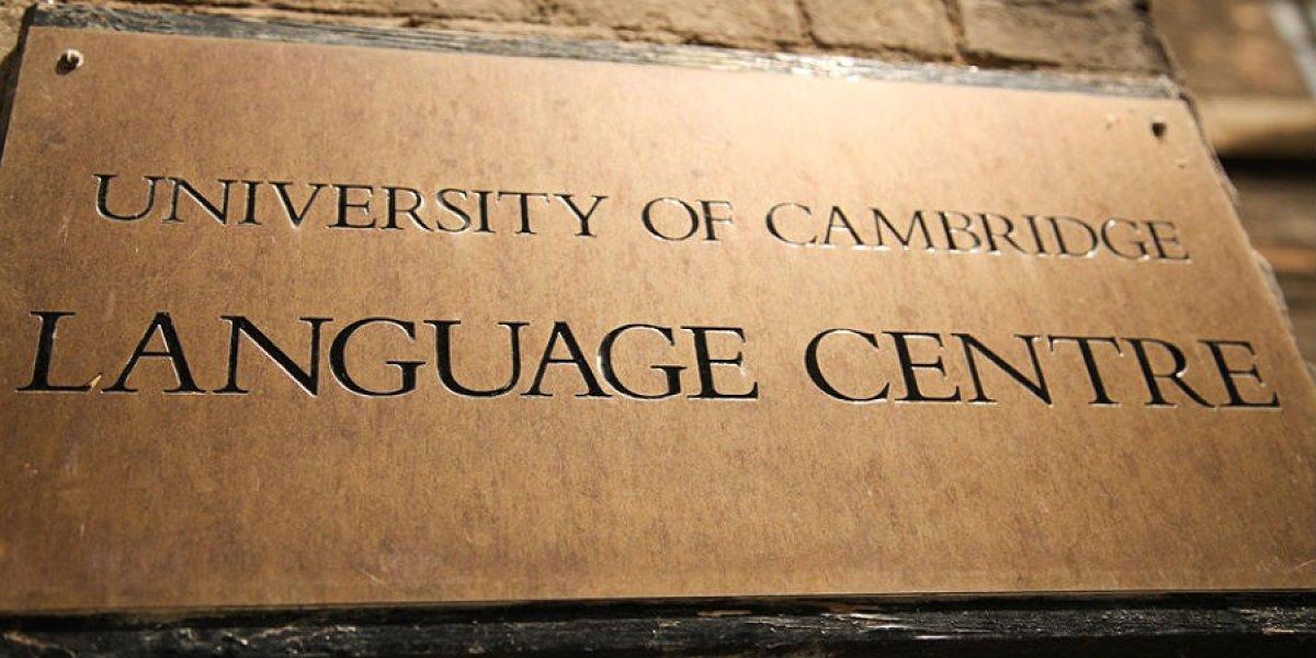 Language centre plaque