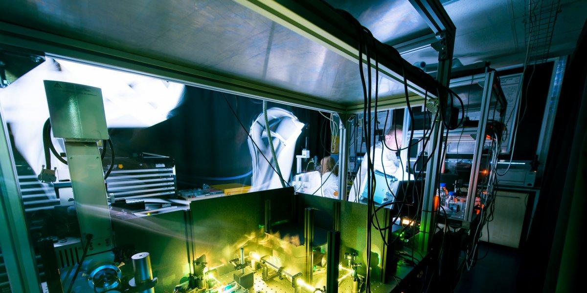 Wolfson Laser Lab