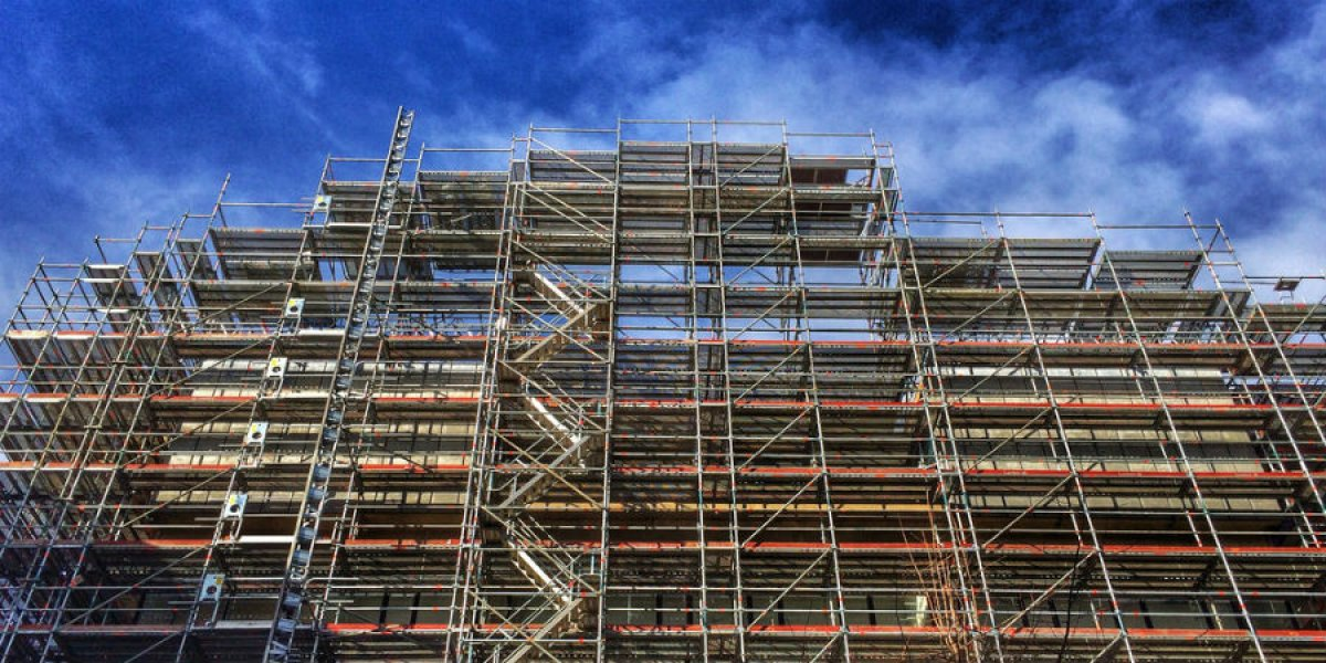 Image of building with scaffolding