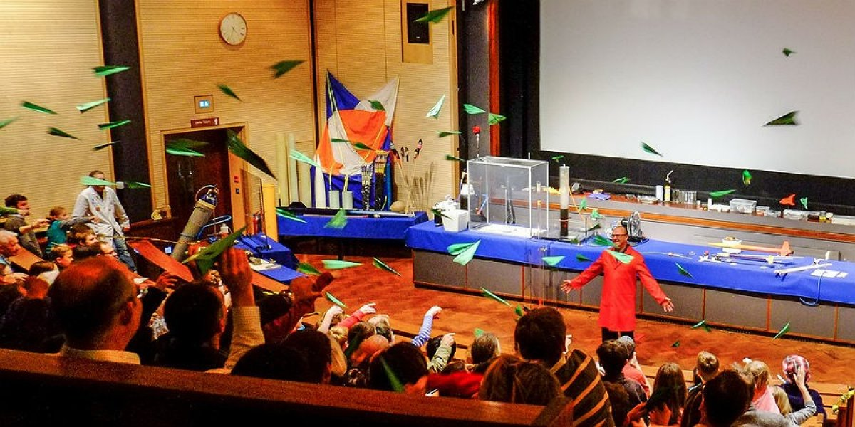 Outreach event at the Science Festival