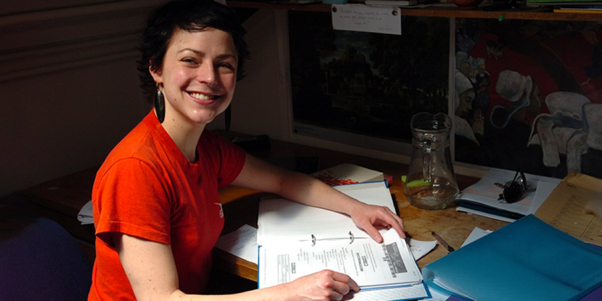 A graduate student