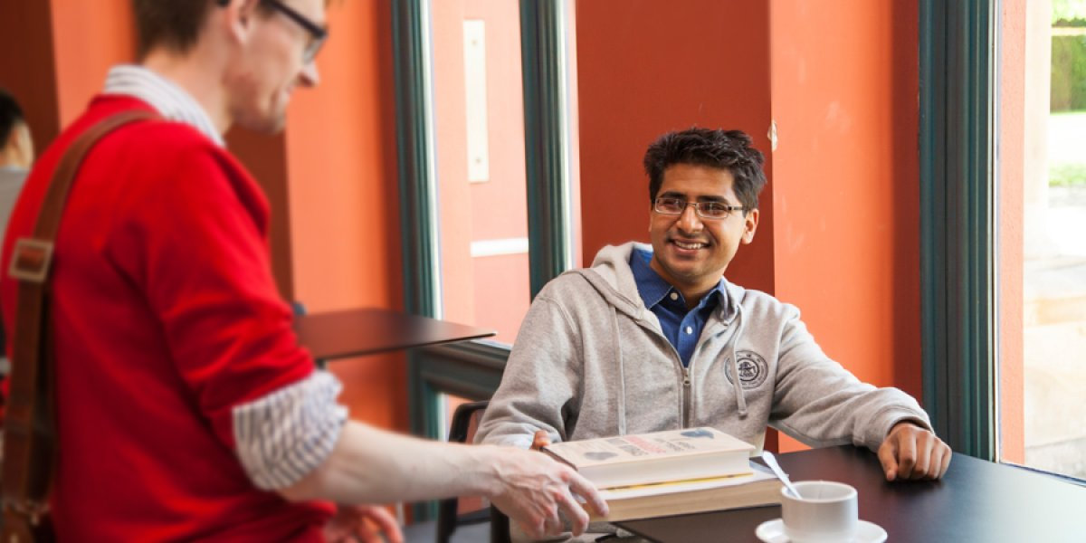 Student getting support from a non-medical helper
