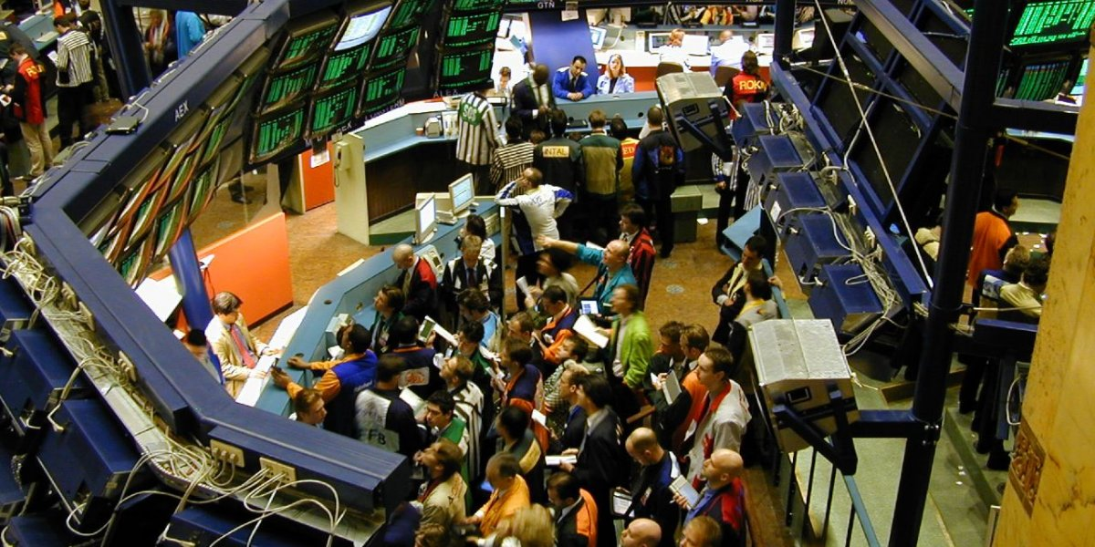 Amsterdam Stock Market. Photography by Perpetual Tourist.