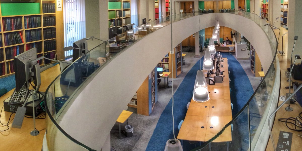 The Library, Cambridge Judge Business School