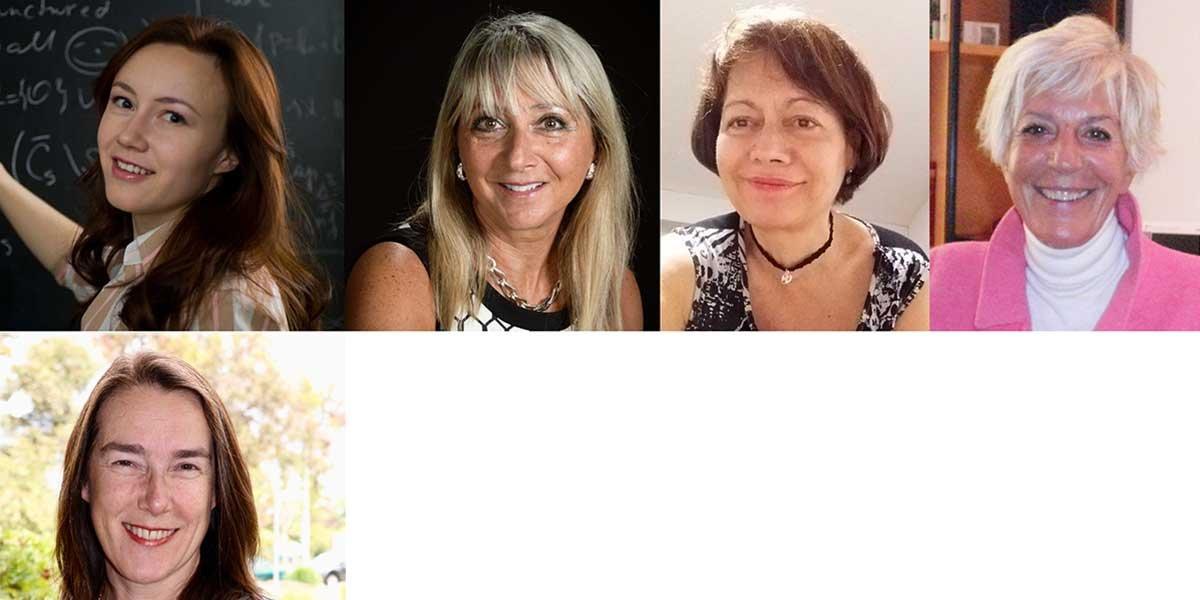 Recipients of the 2019 Kirk Distinguished Visting Fellowships: (left to right) Svitlana Mayboroda, Irene Fonseca, Claudia Sagast