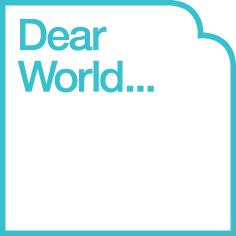 Dear World, ... Yours, Cambridge